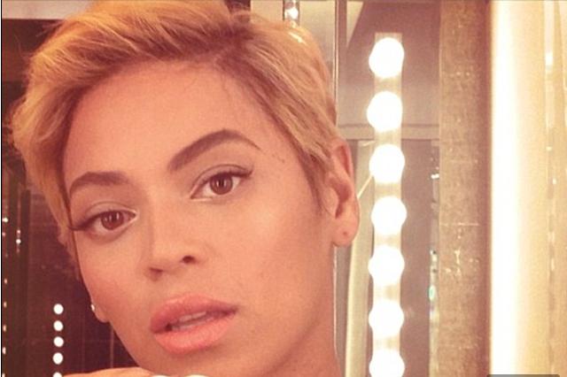 Beyonce's Short Hair