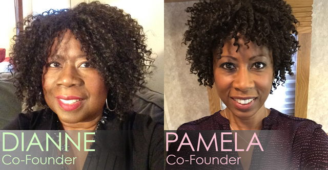 Pamela and Dianne Shaddock, Founders of www.NaturalHairCareNews.com
