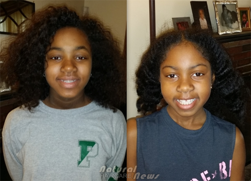 Kristina and Teaching Kids To Love Their Natural Hair