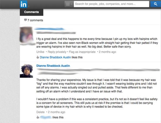 LinkedIn Comment #1
