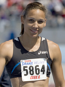 Lolo Jones, Courtesy of Wikepedia