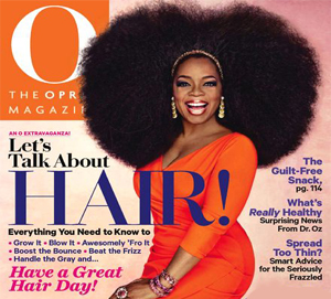 O Magazine Oprah Natural Hair Wig