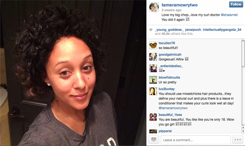 Tamera Mowry Housely Big Chop
