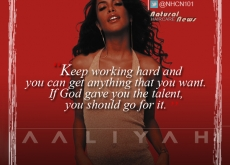 Aaliyah on Working Hard