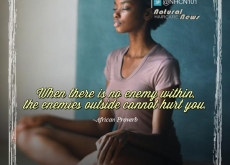 African Proverb on Not Having Enemies