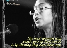 Alice Walker on How People Give Up Power