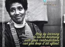 Audre Lorde on Living in Harmony