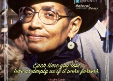 Audre Lorde on Loving Deeply