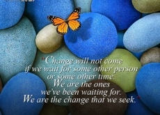 Barack Obama on Change