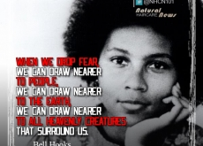 Bell Hooks on Dropping Fear