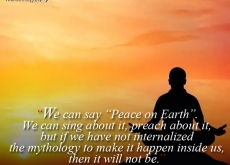 Betty Shabazz on Peace