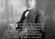Booker T Washington on Success