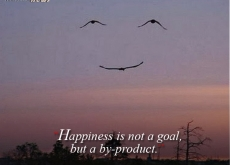 Eleanor Roosevelt on Happiness Being a by-product