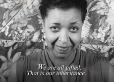 Ethel Waters on Being Gifted