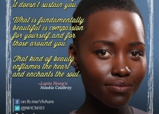 Lupita Nyongo on Beauty and Compassion