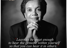 Marian Wright Edelman on Listening To Yourself