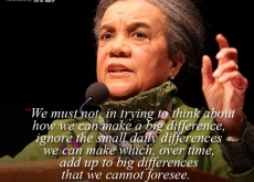 Marian Wright Edelman on Making a Difference
