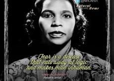 Marian Anderson on Fear