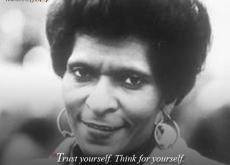 Marva Collins on Thinking for Yourself