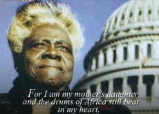 Mary McLeod Bethune on Africa