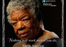 Maya Angelou on Working