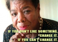 Maya Angelou on Changing Your Attitude