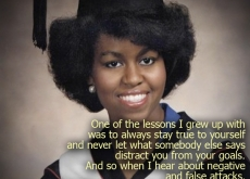 Michelle Obama on Reaching Your Goals
