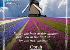 Oprah on Doing Your Best