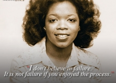 Oprah on Not Believing in Failure