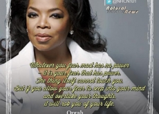 Oprah on Fear
