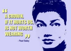 Pearl Bailey on Wearing Crowns