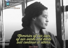 Rosa Parks on Continuing their Legacy