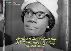 Shirley Chisholm on Service