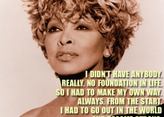 Tina Turner Mission Quote