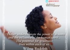 Wilma Rudolph on the Power of Dreams To Make Us Great