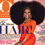"Oprah Dons Big Afro Wig For September Issue of ""O"" Magazine"