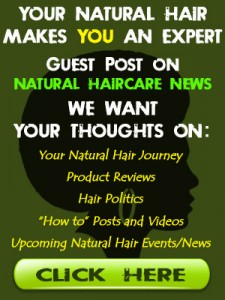 Submit a natural hair journey
