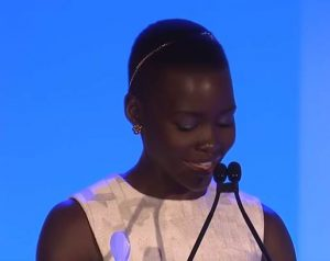 12 Years a Slave's Lupita Nyong'o Delivers a Powerful Speech About Black Beauty