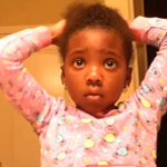 [Video] Pretty Little Naturalista Learns That Styling Her Hair Like Mom Takes Practice