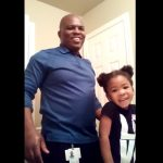 Video: 3-Year-Old Encourages Dad While He Does Her Natural Hair
