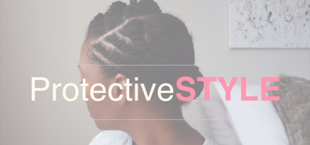 An Easy Flat Twist Style for You to Try