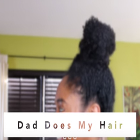 3 Funny Videos of Brothers and a Father Doing Natural Hair