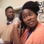 Husband's Shocking Reaction to His Wife Perming Her Natural Hair!