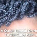 Video Sharing: HOW TO GET CURLY HAIR (TUTORIAL)